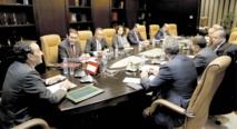 Une vue de la réunion de la section marocaine de la commission parlementaire mixte entre les Parlements marocain et européen.
