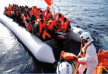 Cinq disparus au large de la Libye