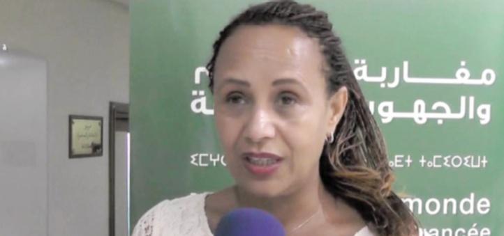 Mina Rhouch  au service des migrants