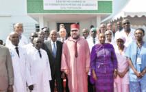S.M le Roi inaugure à Abidjan le Centre  Mohammed VI de formation en médecine d'urgence