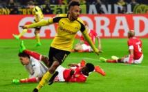 Dortmund en quarts grâce  à un triplé d'Aubameyang