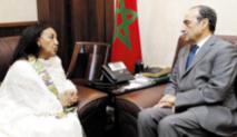 Habib El Malki s'entretient  avec les ambassadeurs du Pérou,  de la Serbie et de l'Ethiopie