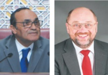 Habib El Malki s'entretient avec Martin Schulz