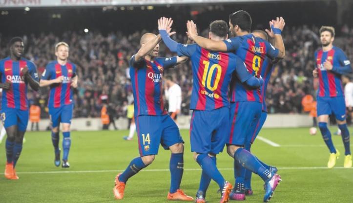 Le Barça reste aux trousses du Real