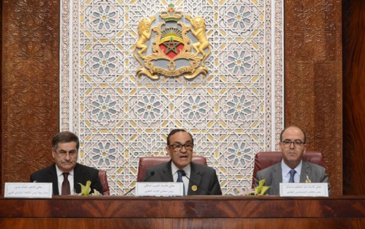 Habib El Malki à l'ouverture des travaux de l'Union parlementaire arabe