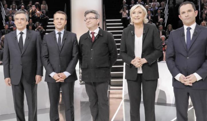 Le débat des prétendants n'a pas bouleversé la hiérarchie de la présidentielle française