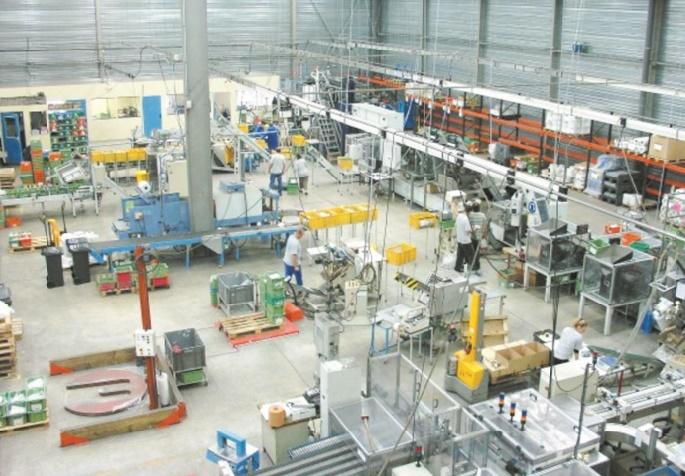 Accroissement de la production industrielle manufacturière