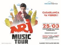 Yassine Jebli en concert à Casablanca pour le NRJ Music Tour