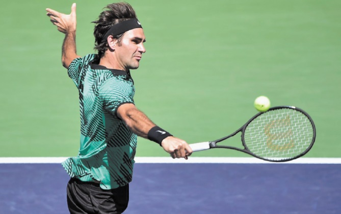 Federer sur sa lancée à Miami