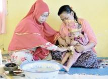 L'excision, cauchemar des fillettes en Indonésie