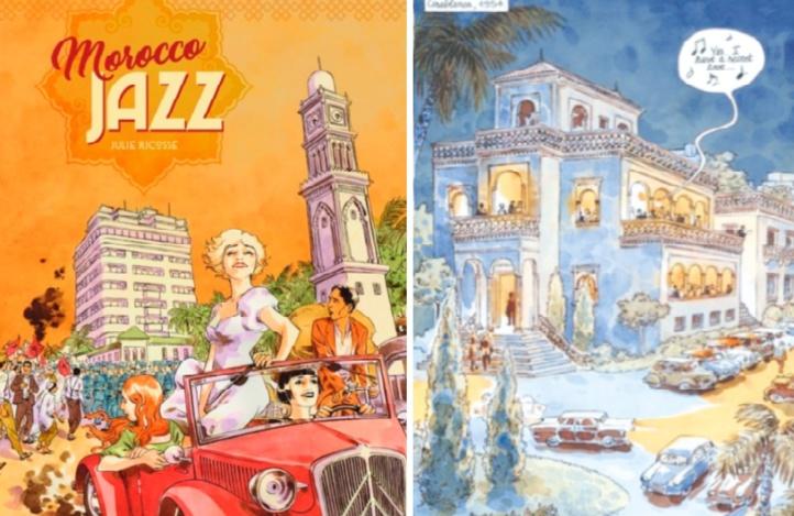 Le Maroc des années 50 ressuscité en BD