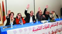 Adoption à l'unanimité des projets de  résolutions des commissions préparatoires par la Commission administrative nationale