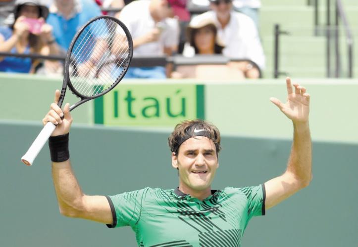 Federer, la machine des courts : Le champion suisse n'a d'yeux que pour un 100ème titre