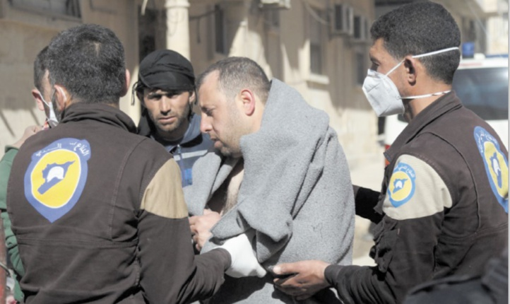 """35 morts dans une attaque au """"gaz toxique"""" en Syrie"""