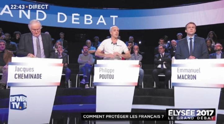 Débat animé des candidats sur fond d'incertitude record à la présidentielle française