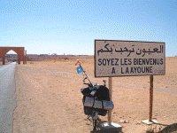 2008, éradication des bidonvilles de Laâyoune