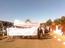 Marche du personnel de l'Hôpital Hassan II d'Agadir