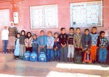 A l'école Iguerar de Tiyoughza