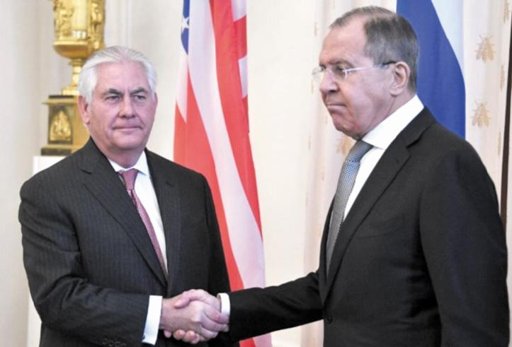Début des pourparlers entre Tillerson-Lavrov après une escalade verbale sur la Syrie
