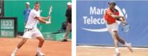 Sur leur élan en Coupe Davis, El Amrani et Ahouda créent l'événement au GP Hassan II
