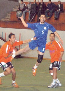 Seconde journée du championnat national de handball