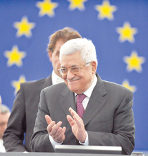 S'exprimant devant les députés des Vingt-Sept : Abbas réclame des comptes à Israël