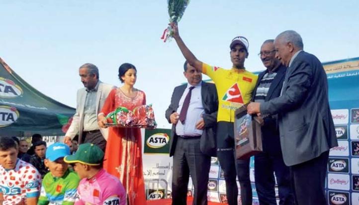 Le Marocain Anass Ait El Abdia termine en jaune le trentième Tour cycliste du Maroc