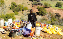 Gros coup de filet de la police à Khénifra : Saisie de 5000 litres d'eau-de-vie