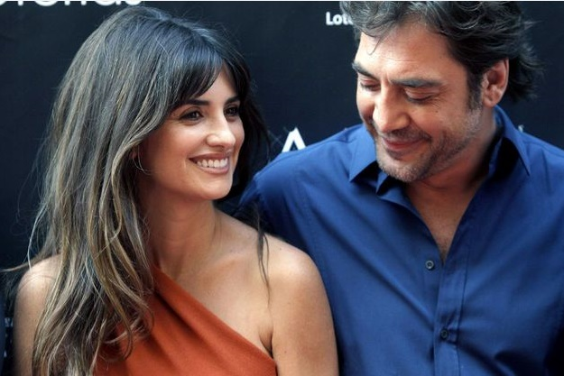 Pénélope Cruz et Javier Bardem, inséparables