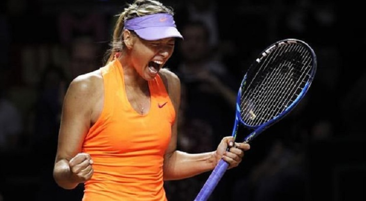 Retour gagnant pour Sharapova à Stuttgart