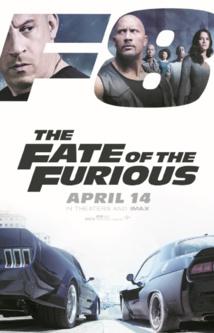 """""""Fast and Furious 8"""" conserve la tête du box-office"""