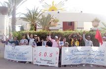 Les salariés en grève à la suite du licenciement de trois syndicalistes : La roulette russe du casino Shems