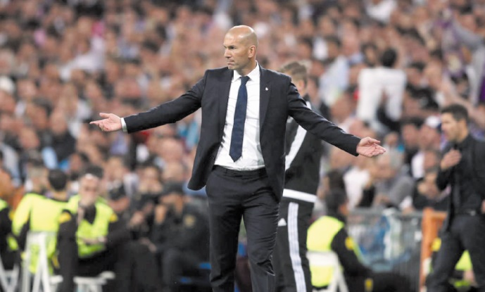 Zidane :  Je vis quelque chose de fou