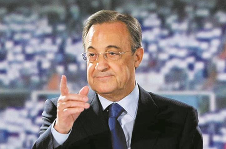 Florentino Perez, magnat espagnol du ballon et du béton