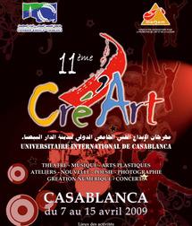 XIème  édition  du Forum  de  la créativité  de  l'étudiant  : Cré'Art, changement de ton