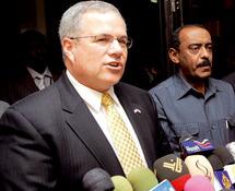 Crise de Darfour : Première visite à Khartoum du nouvel émissaire américain