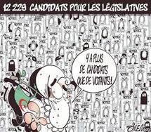 Début du vote anticipé des Algériens en France : Bouteflika mène une course électorale contre lui-même
