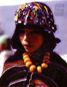 Du 10 avril au 10 mai 2009 à la Galerie Rê de Marrakech : Biliana K Voden revisite l'ethnicité berbère