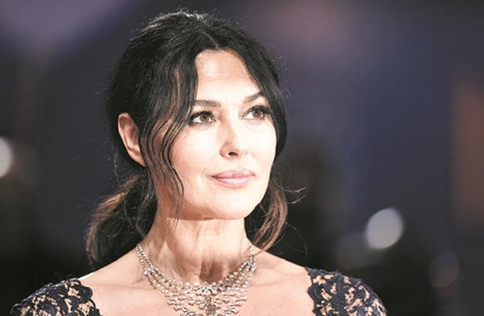 Monica Bellucci: Me voir en femme mûre ne me dérange pas