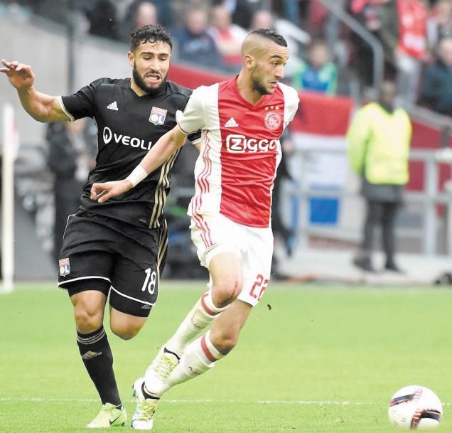 Le Marocain Ziyech pièce-maîtresse de l'Ajax.