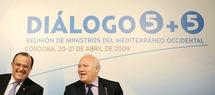 Réunion à Cordoue des ministres des A.E dans le cadre du Dialogue des 5+5