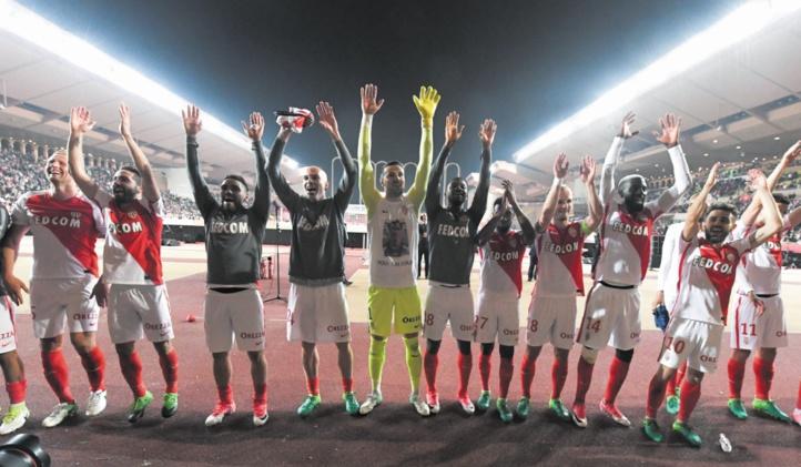 Ligue 1 : Monaco quasi au paradis
