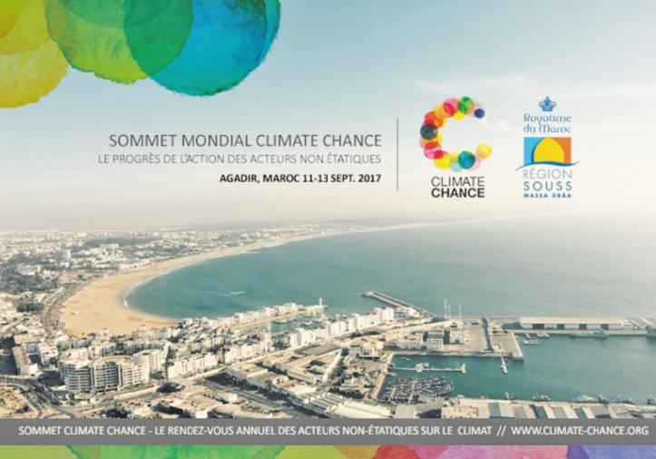 Sommet Climate Chance à Agadir en septembre 2017
