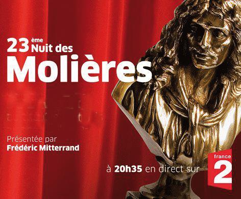 Zabou Breitman, Patrick Chesnais, Line Renaud… : Les grands vainqueurs des Molières 2009