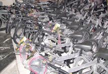 Kelâa des Sraghna : 600 vélos distribués aux élèves nécessiteux