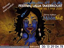 2ème édition de Moonfest de Lalla Takerkoust : Trois jours de fantaisie, les pieds dans l'eau