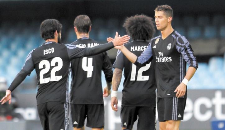 Le Real de Ronaldo tutoie le titre