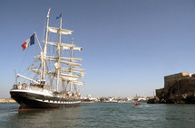 Au large de Rabat, le Belem hisse haut  ses voiles : L'Histoire maritime du Bouregreg ressuscitée