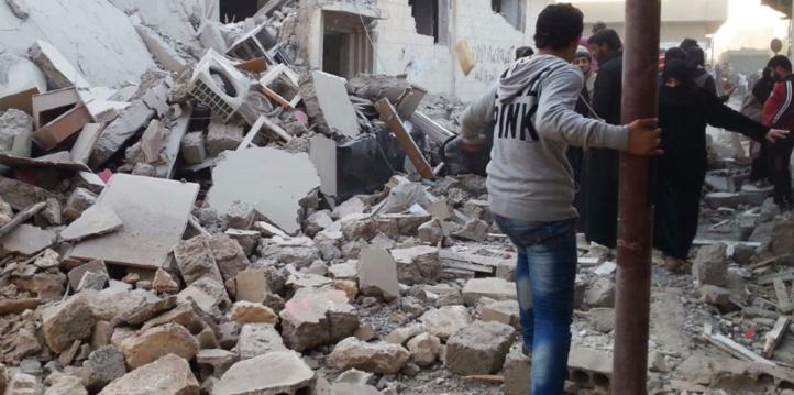 Nombre record de civils tués en Syrie par la coalition internationale