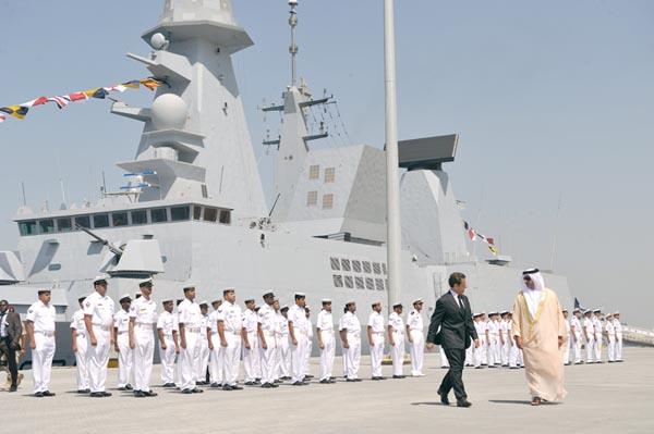 La France veut faire de sa nouvelle base aux Emirats une vitrine